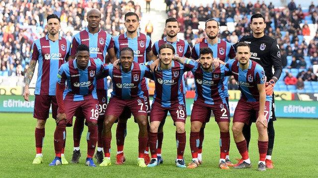Trabzonspor Süper Lig'de 4. sırada yer alıyor.