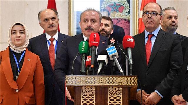 لقاء تاريخي بين رئيسي البرلمان التركي والمغربي.. هذه أهم القضايا