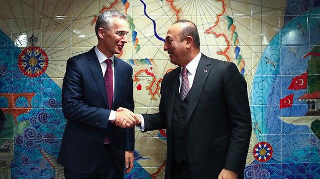 Bakan Çavuşoğlu NATO Genel Sekreteri Stoltenberg ile görüştü