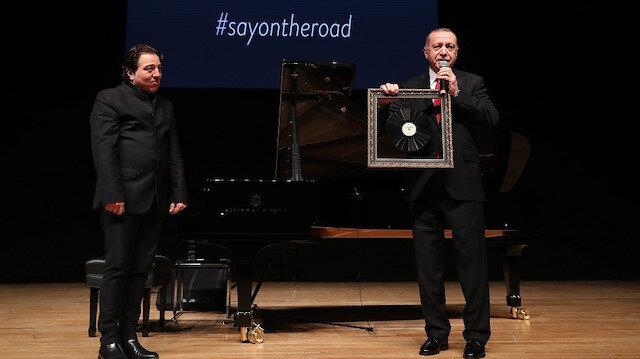 Erdoğan: Fazıl Say'dan 29 Ekim için beste yapmasını istedim