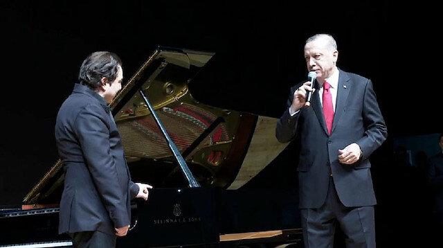 Erdoğan Fazıl Saydan özel beste istedi