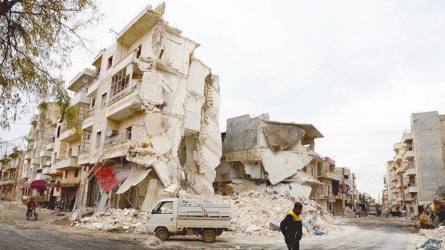 'Çatışmasızlık bölgesi' olarak ilan edilmesine karşın İdlib, hükümet güçlerinin saldırısına hedef oluyor.