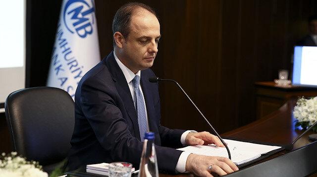 TCMB Başkanı Murat Çetinkaya açıklamada bulundu.