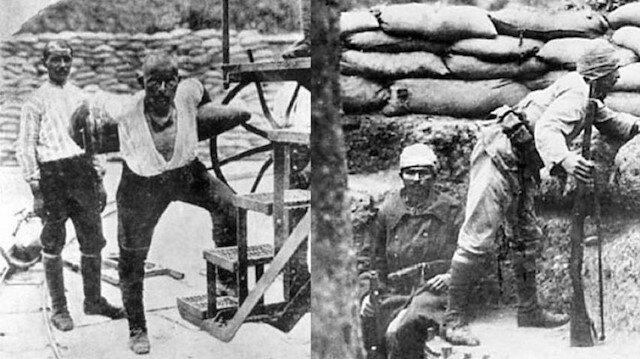 Çanakkale Savaşları'nın sembol ismi Seyit Ali Onbaşı.