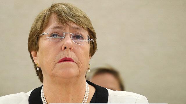 Birleşmiş Milletler (BM) İnsan Hakları Yüksek Komiseri Michelle Bachelet