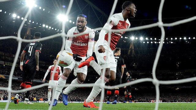 Arsenal, 3-1 yenildiği maçın rövanşını 3-0 kazandı.