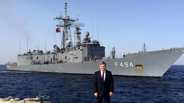 فرقاطة تركية عسكرية في ميناء العقبة بالأردن.. ما قصة المناورات؟
