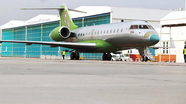 Bombardier Global 6000 tipi jet