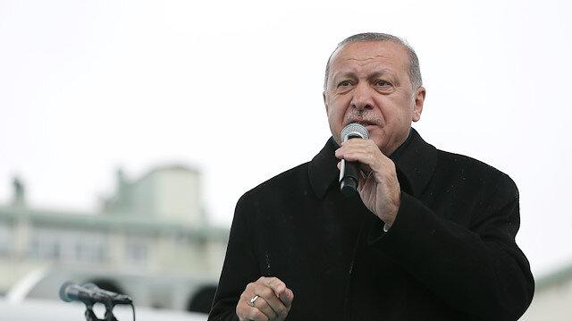 Cumhurbaşkanı Erdoğan: Bunların hepsi tezgah