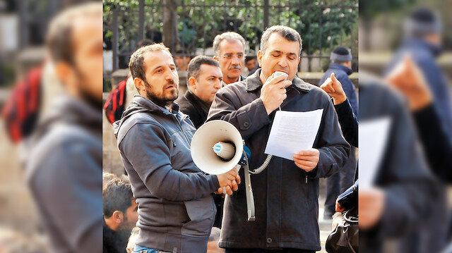 Abdülbaki Karaağaç, 'Öcalan'a Özgürlük' mitingi tertip etti.