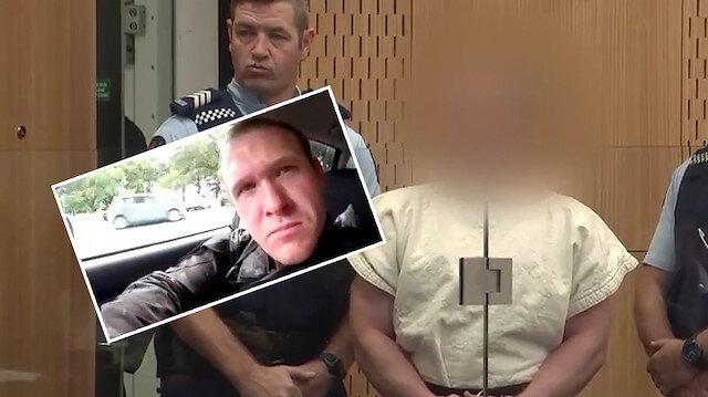 Avustralyalı terörist Yeni Zelandada mahkemeye çıkartıldı