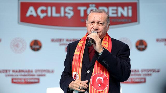 Cumhurbaşkanı Erdoğan: Çatalcadan Kurtköy artık 50 dakika