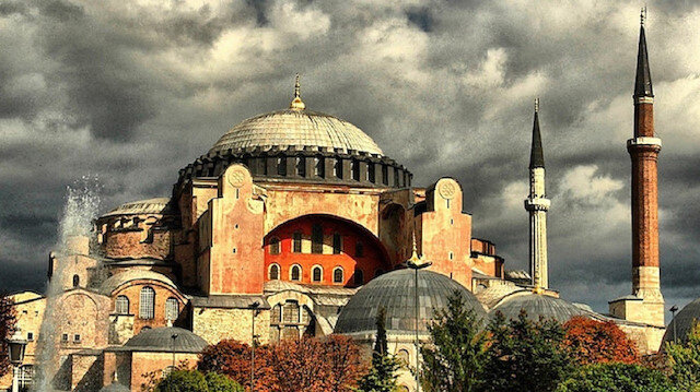 Landmark Hagia Sophia Mosque in Istanbul