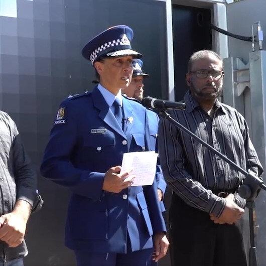 Yeni Zelanda polis şefi konuşmasına arapça selamlama ile başladı