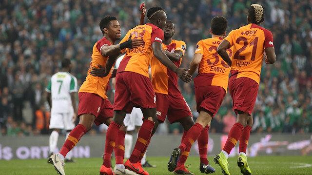 Bursaspor-Galatasaray: 2-3