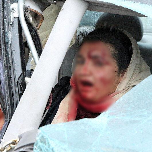 Gaziantep'te 3 araç birbirine girdi: 6 yaralı