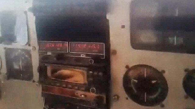 Venezueladaki uçağın düşme anı yolcu tarafından görüntülendi