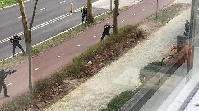 Hollanda'da silahlı saldırgana operasyon