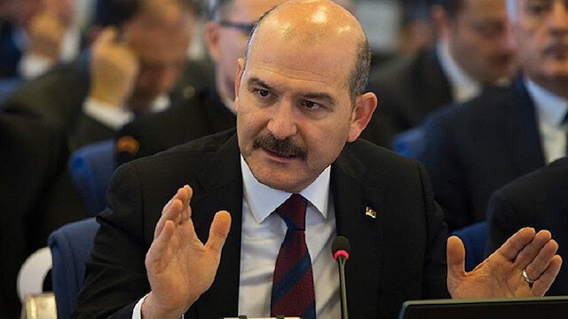 Turkish Interior Minister Süleyman Soylu
