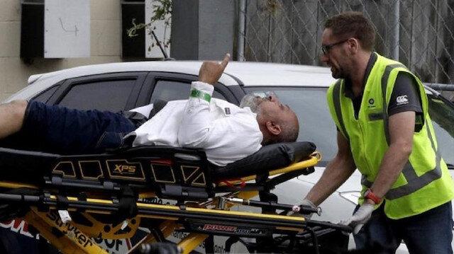 """حادثة نيوزيلندا Picture: المواطن السعودي """"رافع السبابة"""" بعد استشهاده في حادثة مسجد"""