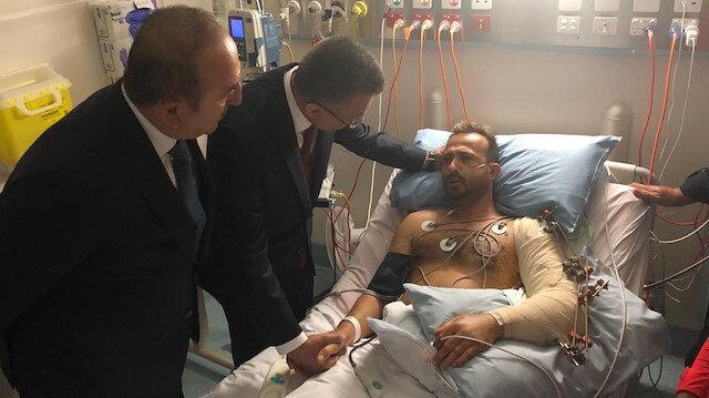 Türk heyeti Yeni Zelanda saldırısında yaralananları ziyaret etti