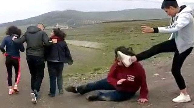 Hem dövüp hem videoya çekmişlerdi: 5 sanığa ceza yağdı