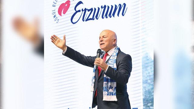 Erzurum için büyük hedeflerimiz var