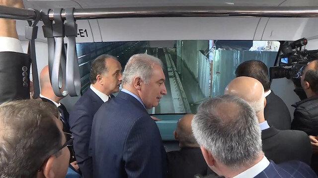 Mahmutbey-Mecidiyeköy metro hattının test sürüşlerine başlandı