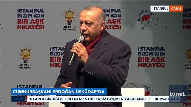 Cumhurbaşkanı Erdoğan Kayahan'ın şarkısını söyledi