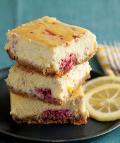 Limonlu Frambuazlı Cheesecake