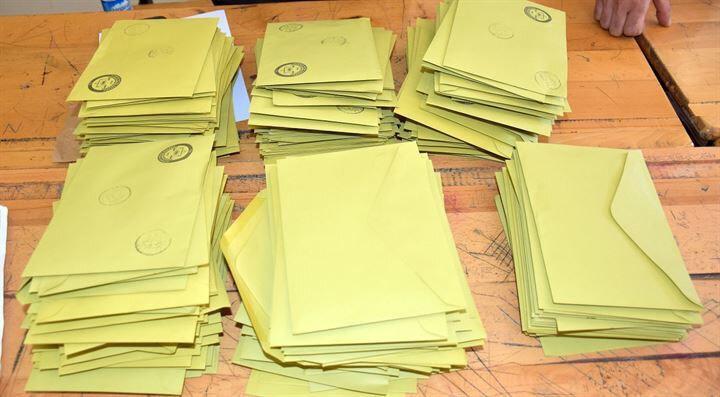 Büyükşehirlerde önce büyükşehir belediye başkanlığı, diğer illerde önce belediye başkanlığı oy pusulaları sayılacak.