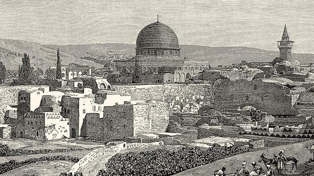 Kudüs'ün daha önce hiçbir yerde görülmemiş gravürleri