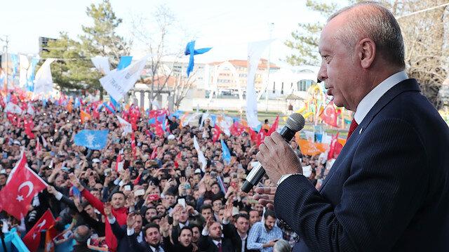 Erdoğan: CHP'de bugün Kandil'dekilerin hatırı sayılıyor