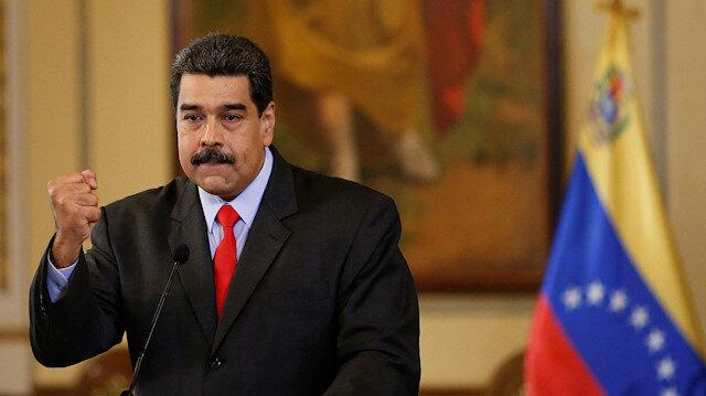 Maduro: İlaç için kullanılacak 5 milyar dolarımız rehin alındı