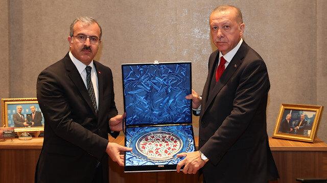 Cumhurbaşkanı Recep Tayyip Erdoğan, Kütahya Belediyesini ziyaret etti.