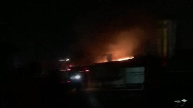 Kocaeli'de sanayi sitesinde patlama
