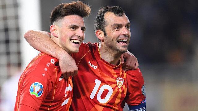 Eljif Elmas'ın 2 gol attığı maçta Goran Pandev de 1 asistle oynadı.