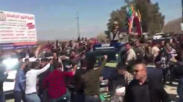 Irak Cumhurbaşkanı Salih'in Musul'da konvoyu kuşatıldı