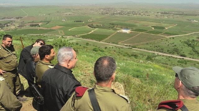 AB'den Golan tepeleri açıklaması: Tanımıyoruz