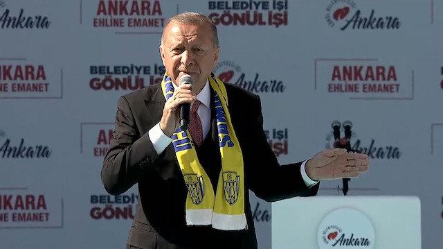 Erdoğan'dan Büyük Ankara Mitinginde önemli açıklamalar