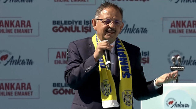 Mehmet Özhaseki: Utandıkları, sakladıkları ortaklarını söyleyemiyorlar
