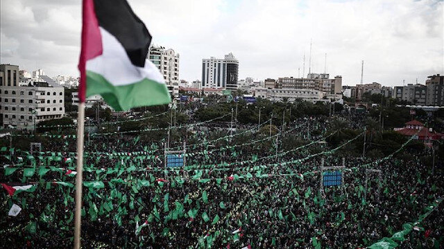 Hamas İsrail'i kınayan BM tasarısından memnun