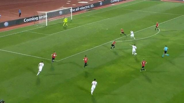 Hakan Çalhanoğlundan muhteşem gol