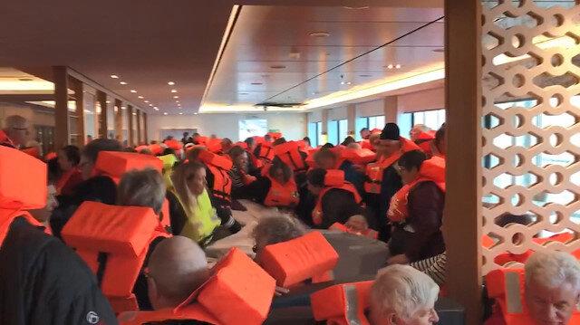 Norveç'teki yolcu gemisinden 397 kişi kurtarıldı