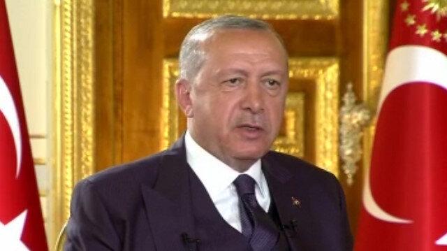 Cumhurbaşkanı Erdoğan'dan 'Ayasofya' açıklaması