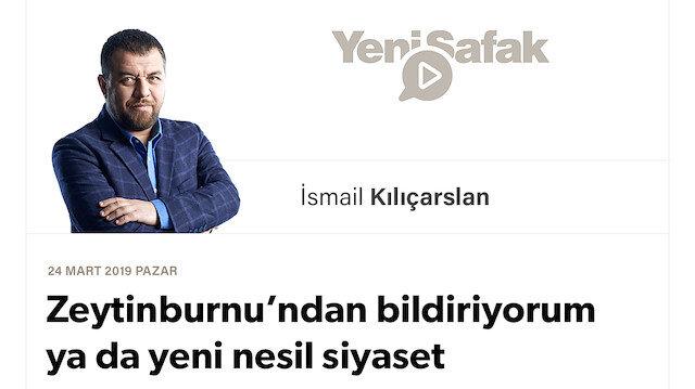 Zeytinburnu'ndan bildiriyorum ya da yeni nesil siyaset
