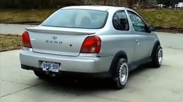 Aracı sağa sola kaydıran lastik tasarlandı