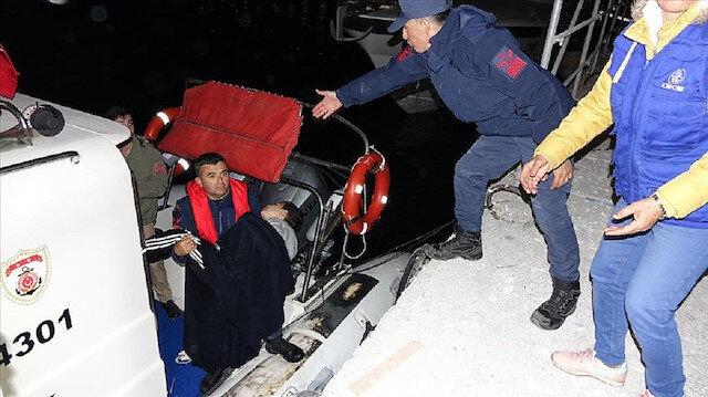 Çanakkale'de göçmen teknesi faciası