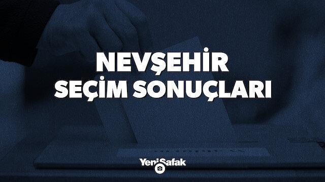 Nevşehir seçim sonuçları.