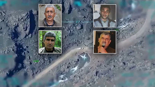 PKK'nın tepe kadrosuna ağır darbe